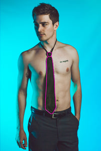 Light-up Neck Tie - Pink
