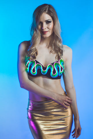 Light-up Bra - Chasing Rainbows