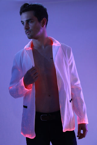 Fiber Optic Suit Jacket