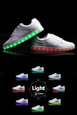 Image of Light up Shoes - White