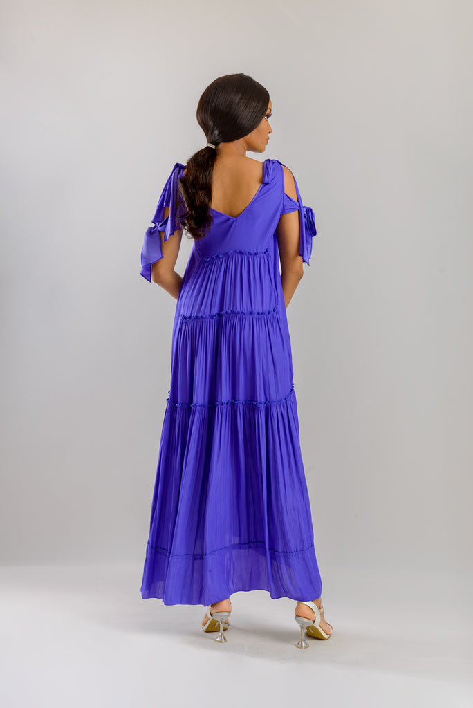 ANSLEY DRESS - PURPLE