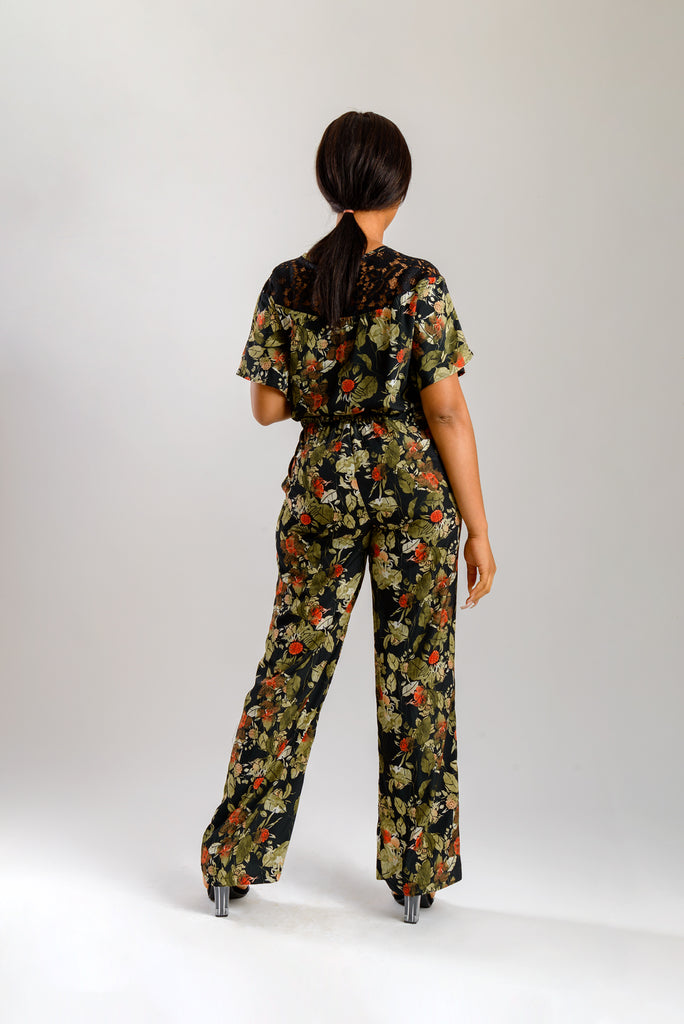 GREEN LEAF JUMPSUIT