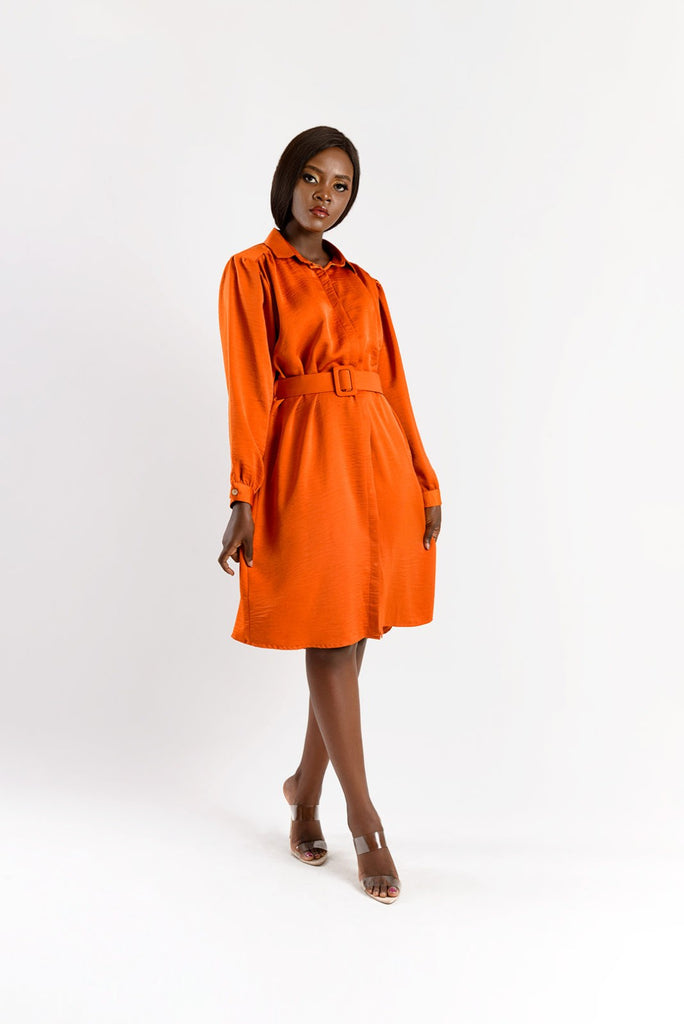 WINIFRED SILK DRESS