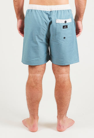 MOMENTO ELASTIC BOARDSHORT - OIL BLUE