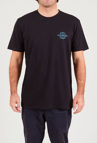 DARK HAZE SHORT SLEEVE TEE - BLACK