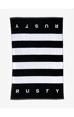 CLEAN SLATE TOWEL - BLACK
