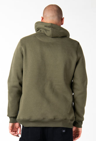 BULL BAR HOODED FLEECE - FOUR LEAF CLOVER