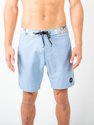 GREEN THUMB BOARDSHORT - BLUE FOG