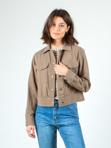 LOVEWILD CROP JACKET - PRAIRE