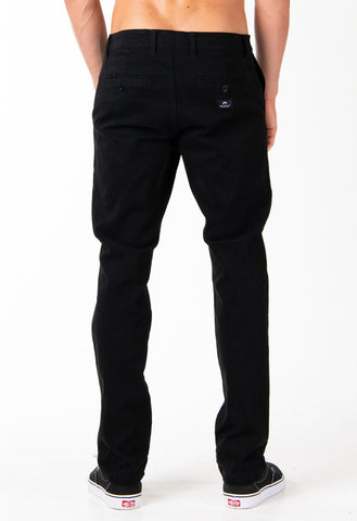 JOHNNY CHINO PANT - BLACK