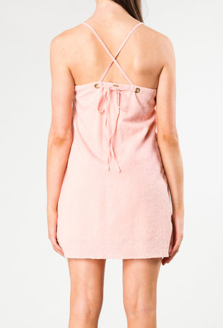 DREAMER BEACH 2 DRESS - SHELL PINK