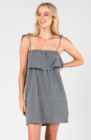 TRADEWINDS DRESS - NAVAL GREY