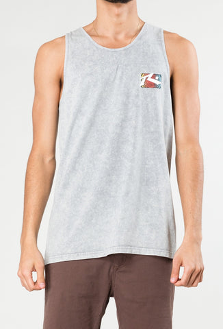 DAY TRIPPER TANK - STONE GREY