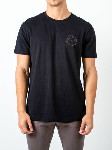 HAND DONE SHORT SLEEVE TEE - BLACK