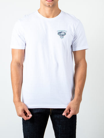 SURF WARS SHORT SLEEVE TEE - WHITE