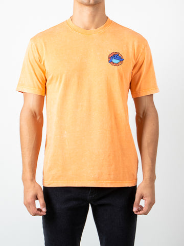 TRAILS SHORT SLEEVE TEE - MUSKMELON