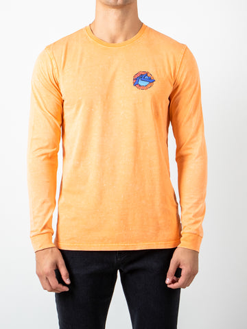 SUNSET LONG SLEEVE TEE - MUSKMELON