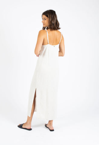 SHADY MIDI DRESS - NATURAL