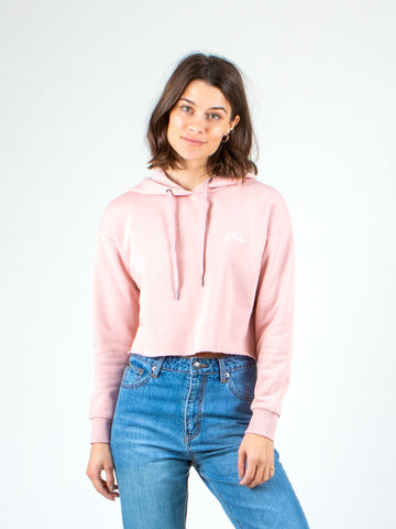 BALLER HOODED FLEECE - SHELL PINK