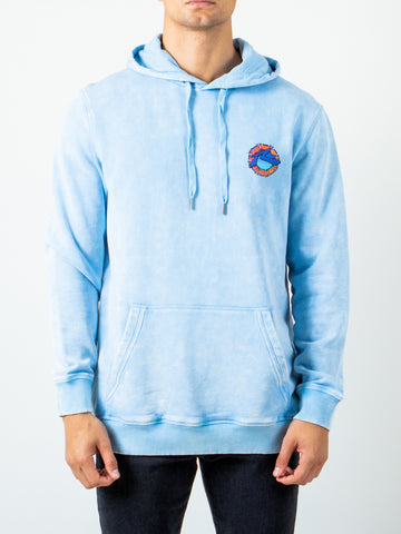 DIVERS HOODED FLEECE - ALASKAN BLUE
