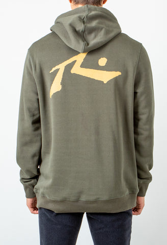 COMPETITION HOODED FLEECE - ARMY GREEN