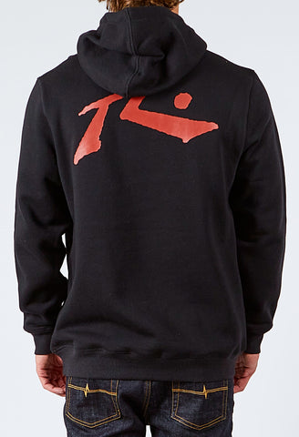 COMPETITION HOODED FLEECE - BLACK