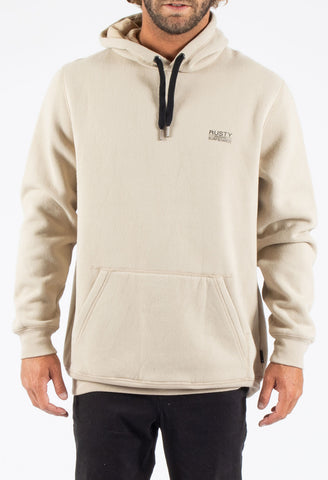 UNDERWATER HOODED FLEECE - SAFARI