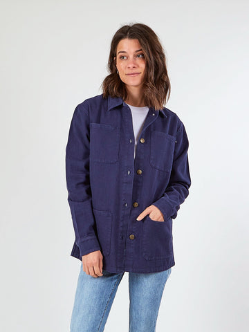 RIVER CHORE JACKET - TRUE NAVY