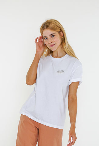 BOLT SHORT SLEEVE TEE - WHITE