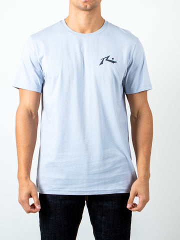 COMPETITION SHORT SLEEVE TEE - BLUE FOG