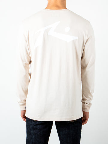 COMPETITION LONG SLEEVE TEE - SAND