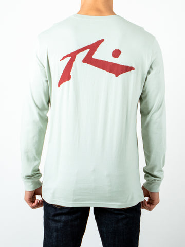 COMPETITION LONG SLEEVE TEE - SAGE