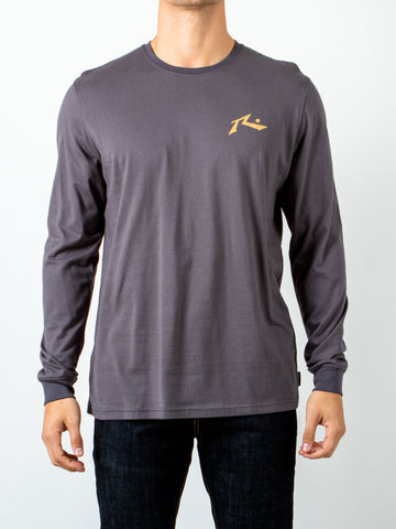 COMPETITION LONG SLEEVE TEE - SHARK GREY