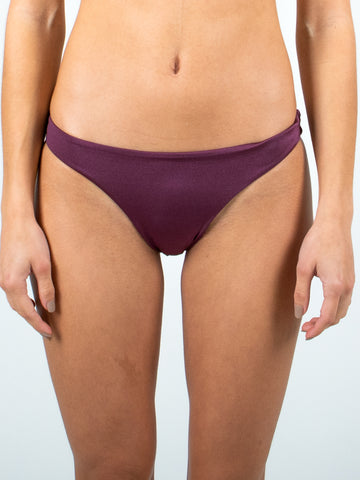 HONEY MIDI BIKINI PANT - BERRY
