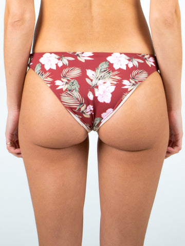 HONEY MIDI BIKINI PANT - SIENNA TROPICAL