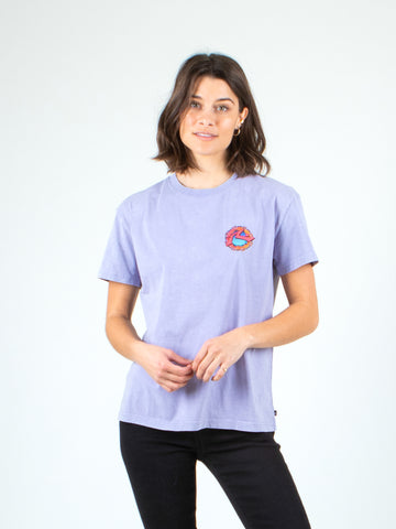 SUNSET SHORT SLEEVE TEE - LILAC
