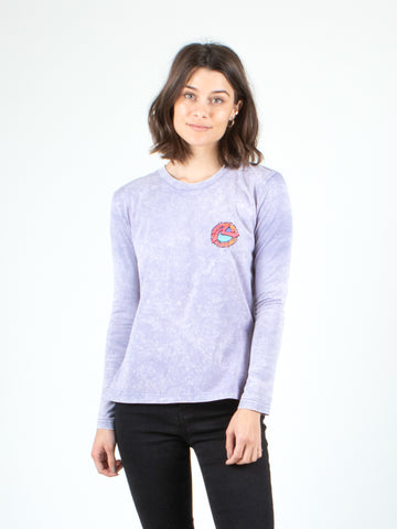 PASADENA LONG SLEEVE TEE - LILAC