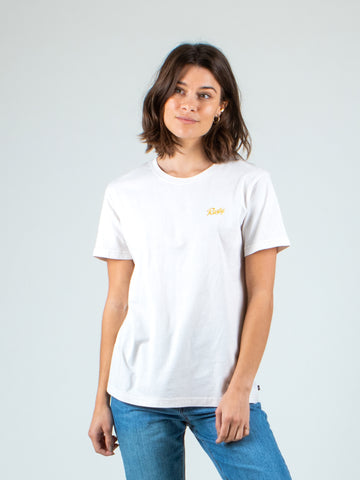 LOW TIDE SHORT SLEEVE TEE - CRYSTAL GREY