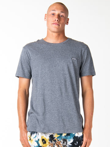 ALL TIME SHORT SLEEVE TEE - DARK GREY MARLE