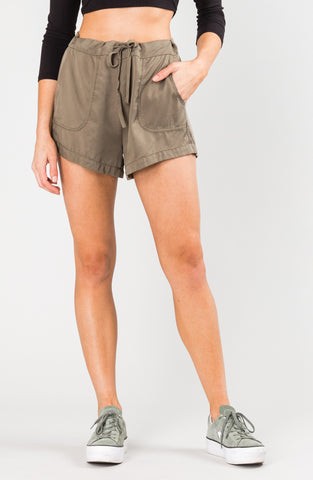 BOUNDS SHORT - FADED OLIVE