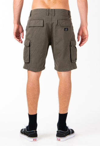 MANILA CARGO SHORT - RIFLE GREEN