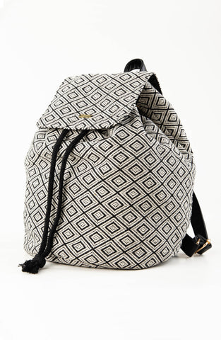 IMANE BACKPACK - BLACK / WHITE