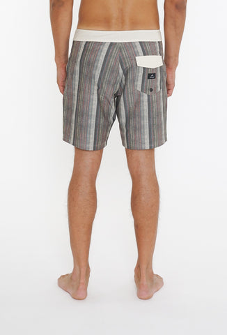 KNITTED BLISS BOARDSHORT - FEATHER GREY