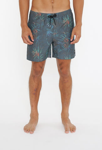 LEFT OF CENTRE ELASTIC BOARDSHORT - DARK SAPPHIRE