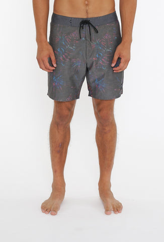 LEFT OF CENTRE BOARDSHORT - BLACK