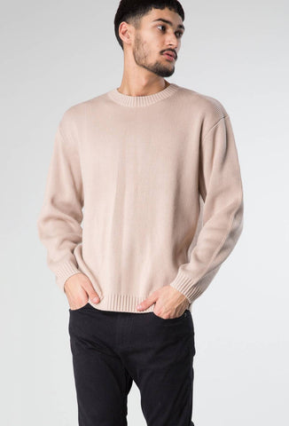 MISERY CREW NECK KNIT - FENNEL