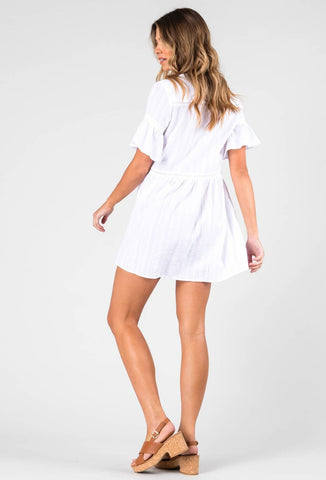 CASSIS DRESS - WHITE