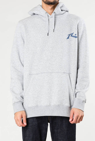 COMPETITION HOODED FLEECE - GREY MARLE 1