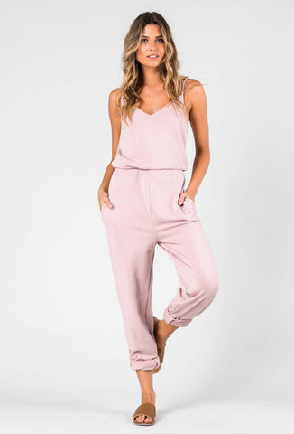 SKIPPER JUMPSUIT - WOODROSE