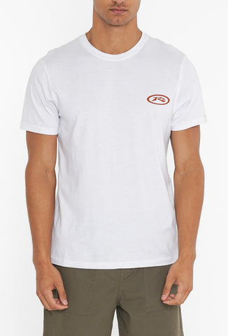 WINTRY SHORT SLEEVE TEE - WHITE